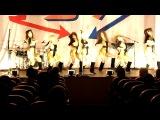 Видеофрагмент выступления танцевальной шоу-группы